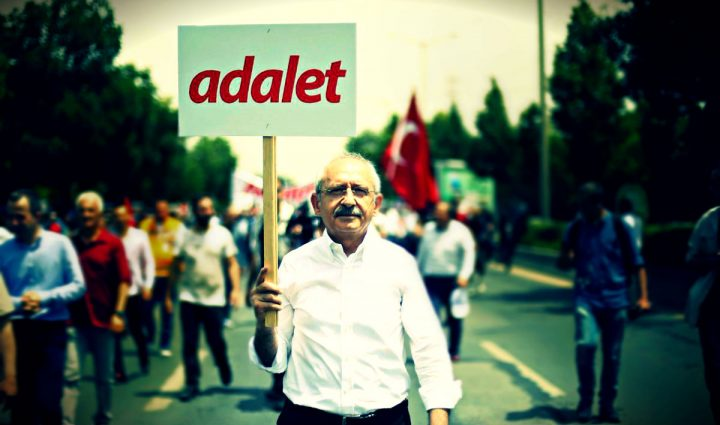 kemal kılıçdaroğlu adalet yürüyüşü ankara istanbul