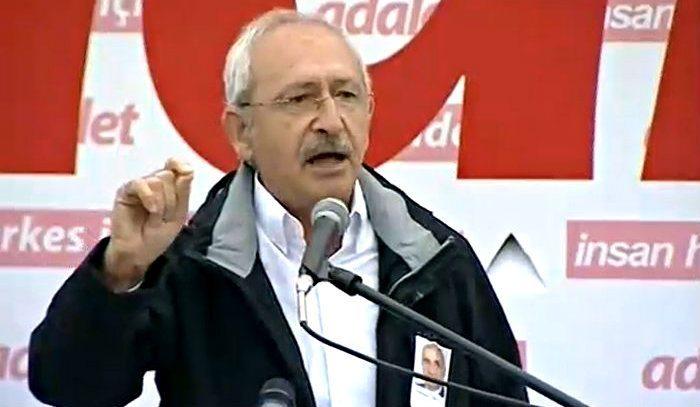 Kılıçdaroğlu'ndan Adalet Yürüyüşü'nde CHP grup toplantısı