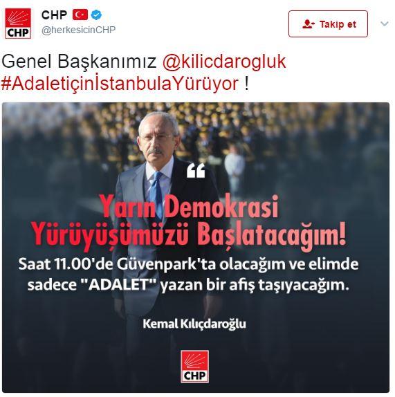 kemal kılıçdaroğlu ankara güvenpark yürüyüş afiş askerler
