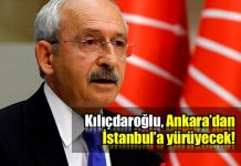 kemal kılıçdaroğlu Ankara'dan İstanbul'a kaç günde yürüyecek?