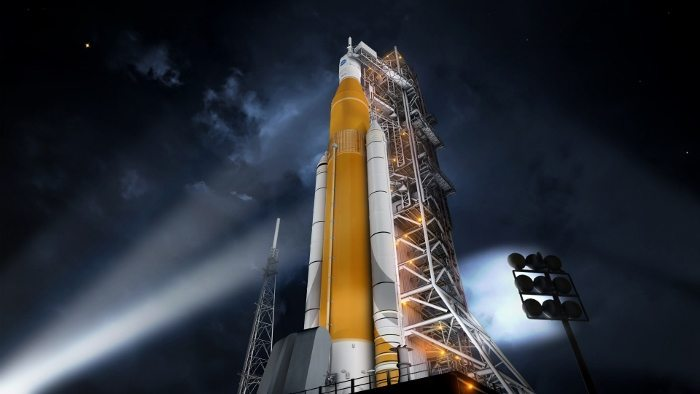 mars için uzay gemisi roket