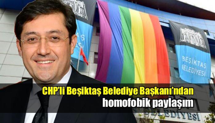Murat Hazinedar belediyenin Onur Haftası paylaşımını sildirdi