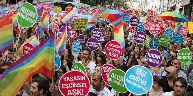 onur haftası onur yürüyüşü lgbti+