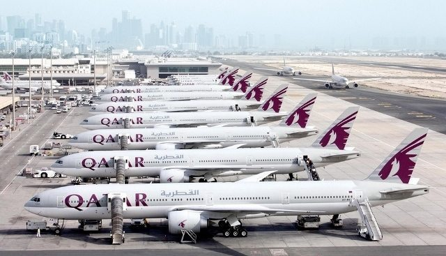 Qatar Airways'e darbe katar krizi