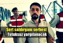 Şort saldırganı Ercan Kızılateş tutuksuz yargılanacak
