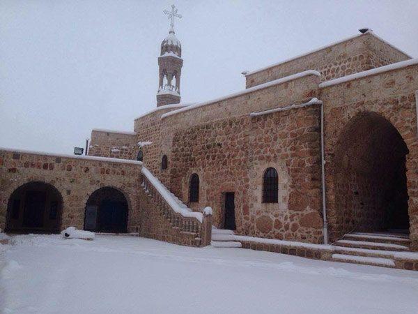 Badıbe'deki Mor Yakup D'karno manastırı