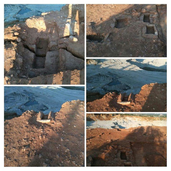 Muğla'nın Yatağan ilçesinde antik çocuk mezarları bulundu