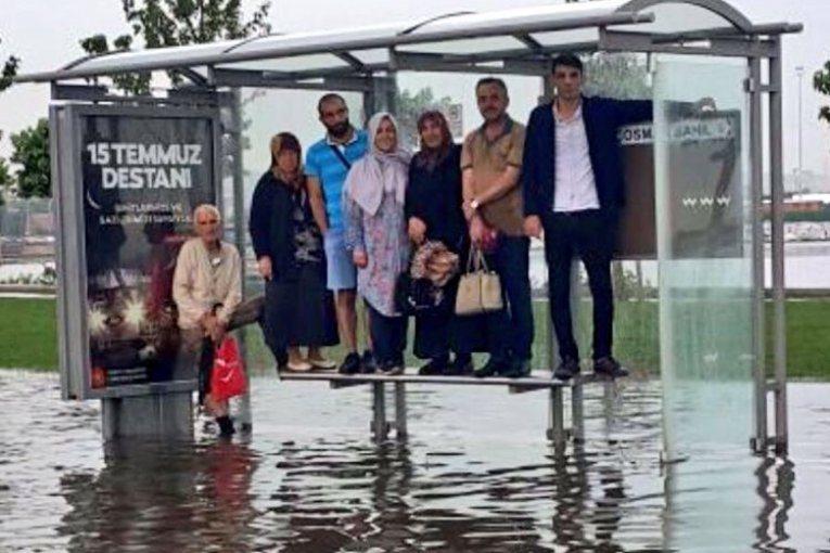 15 temmuz destanı istanbul sel doğal afet felaket