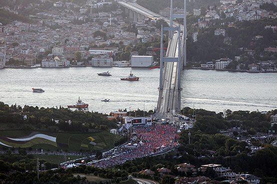 milli birlik yürüyüşü cumhurbaşkanı erdoğan 15 temmuz şehitler köprüsü demokrasi bayramı