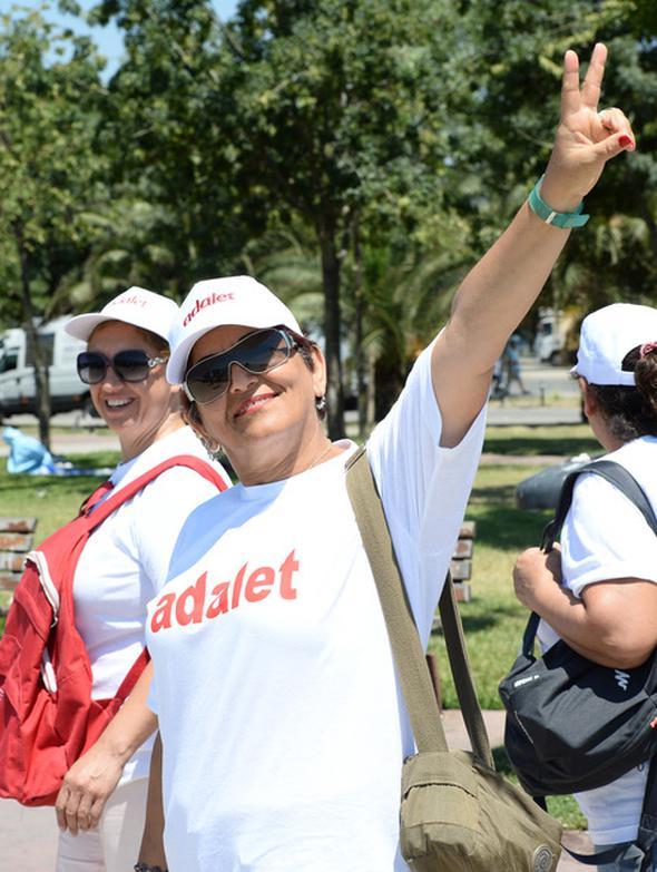 Adalet Buluşması: Tarihi yürüyüşe dev katılım