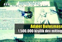 adalet buluşması adalet yürüyüşü kemal kılıçdaroğlu maltepe mitingi