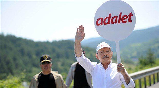 kemal kılıçdaroğlu adalet yürüyüşü