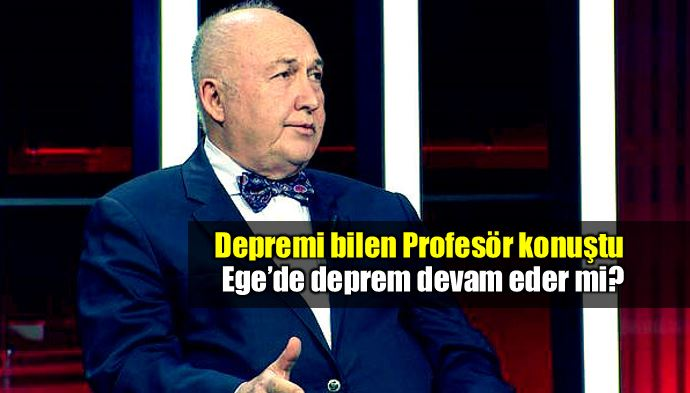 Ege deprem devam eder mi? Profesör Ahmet Ercan konuştu