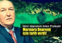 Prof. Ahmet Ercan Marmara depremi için tarih verdi özgün ahmet ercan