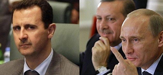 erdoğan esad putin
