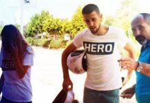 Hero tişörtü giyen çift Antalya'da gözaltına alındı