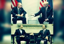 House of Cards dizisi bu sahneyi önceden tahmin etti g20 trump putin