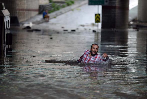 istanbul sel şiddetli yağış