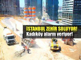 İstanbul zehir soluyor: Kadıköy'de şok değerler!
