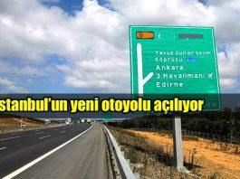 İstanbul Kuzey Marmara Otoyolu paşaköy tem kurtköy