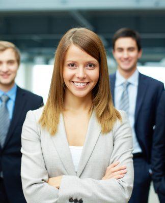 liderlik kadının doğasında