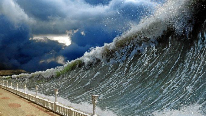 tsunami dev dalgalar nasıl oluşur deprem türkiye antalya muğla akdeniz ege izmir