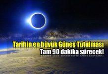 21 Ağustos 2017 tarihin en büyük güneş tutulması