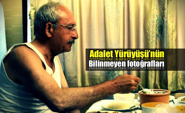Adalet Yürüyüşü bilinmeyen fotoğrafları kemal kılıçdaroğlu selahattin sönmez