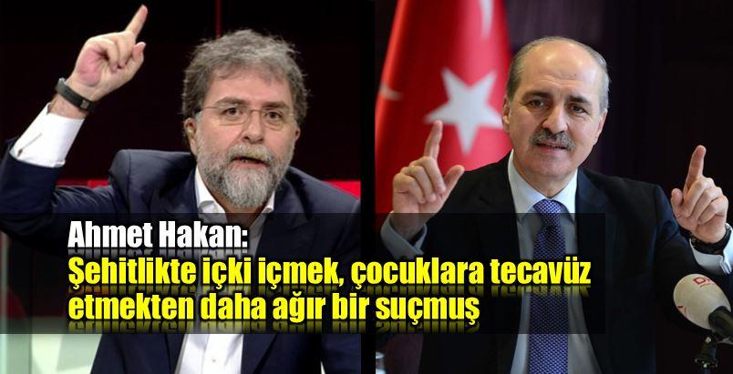 Ahmet Hakan Numan Kurtulmuş Ensar chp adalet kurultayı alkol