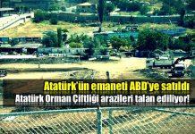 Atatürk Orman Çiftliği (AOÇ) arazisi ABD misyonuna satıldı