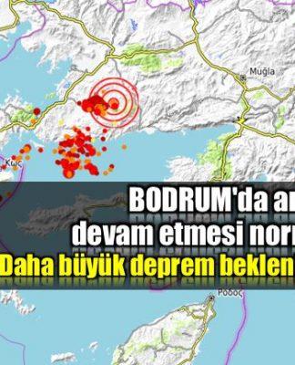 Bodrum'da artçıların devam etmesi normal mi? Büyük deprem olur mu?