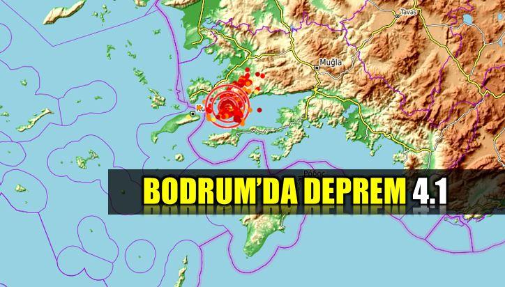 Bodrum deprem: 4.1