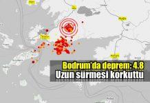 bodrum deprem revize 4.8 son depremler