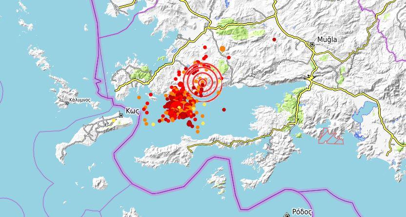 bodrum deprem son depremler kandilli