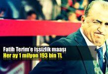 Fatih Terim'e işsizlik maaşı: Ayda 1 milyon 193 bin TL