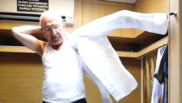 kemal kılıçdaroğlu atlet gömlek anadolu insanı