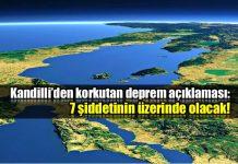 Kandilli'den korkutan deprem açıklaması