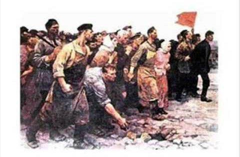 kızıl komünistler kızıl bayrak