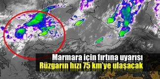 Marmara için fırtına uyarısı: Rüzgarın hızı 75 km'ye çıkacak!