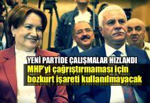 Meral Akşener Merkez Demokrat Partisi bozkurt işareti yasak