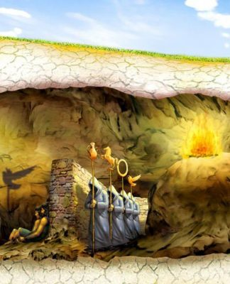 Eflatun'un mağara benzetmesi