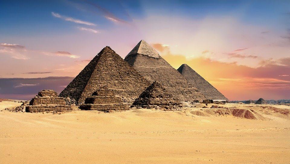 Giza Piramitleri, Mısır