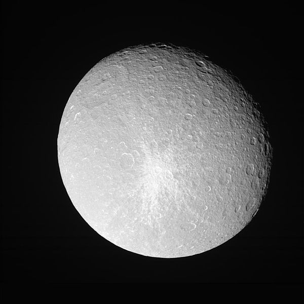 Satürn'ün uydusu Rhea
