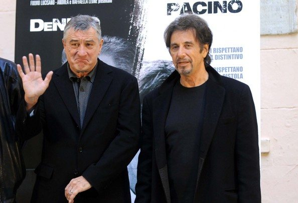 Robert De Niro ve Al PacinoRobert De Niro ve Al Pacino the Irishman