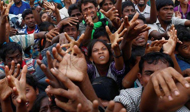 Arakan Müslümanları'na zulüm ve sömürü düzeni