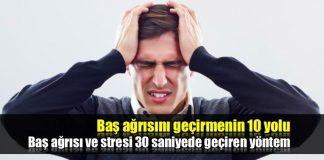 Baş ağrısı nasıl geçer ne iyi gelir? 30 saniyede geçiren yöntem