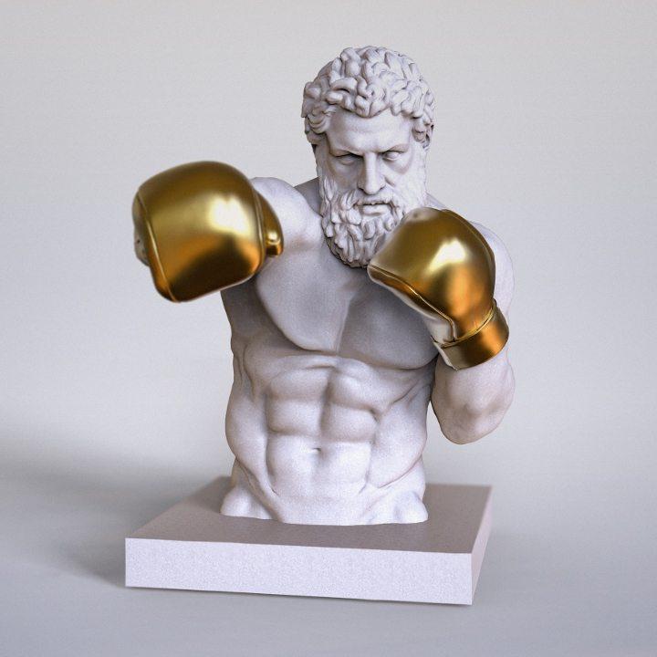 Boxing Bust CiCat 2017