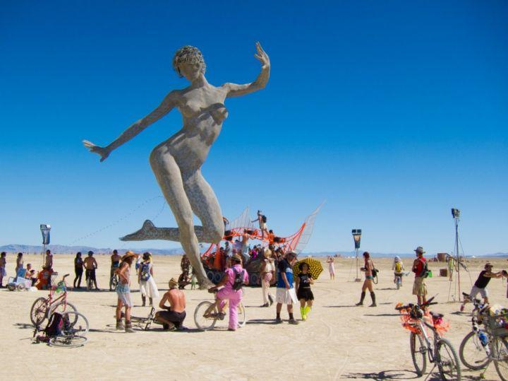 Burning Man: Hippie geleneğini devam ettiren festival