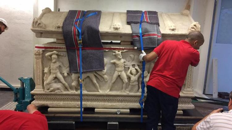 Herakles Lahdi Antalya Müzesi getirildi thy