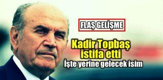 Kadir Topbaş istifa etti: Yerine kim gelecek göksel gümüşdağ